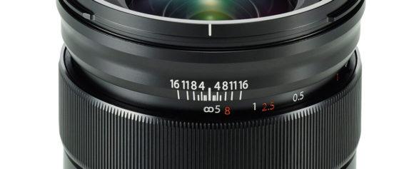XF16mm 距離指標
