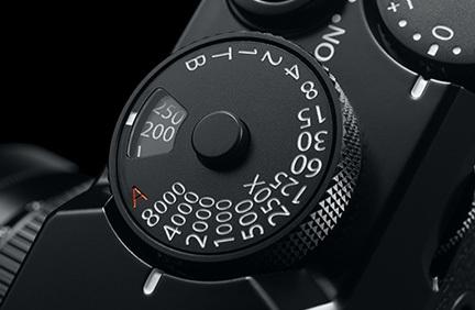 X-Pro2 ISO感度・シャッタースピードダイヤル
