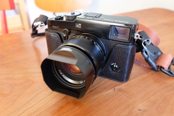 X-Pro2 XF35F1.4 フードあり
