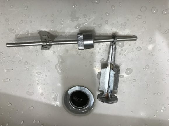 水道 排水栓 取り外し 構造