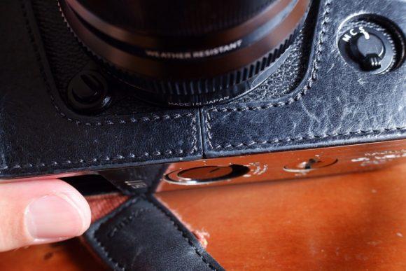 GARIZ Xpro2用ケース外観 縫合 レンズ下