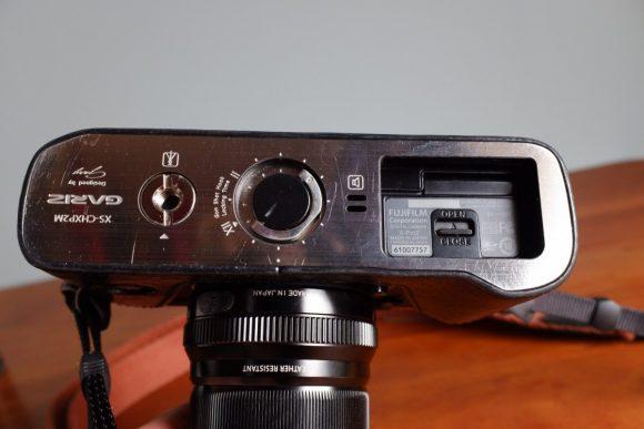 GARIZ Xpro2用ケース外観 底面 使用後
