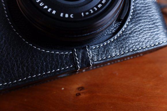 TP X100F用ケース レンズ下 縫合