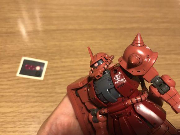HG シャア専用ザクII オリジン版 アイセンサー シール