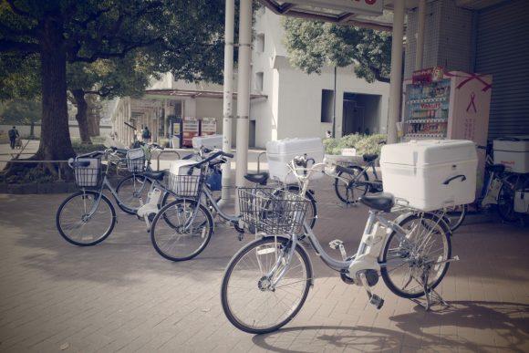 GRⅢ撮影サンプル 自転車 レトロ
