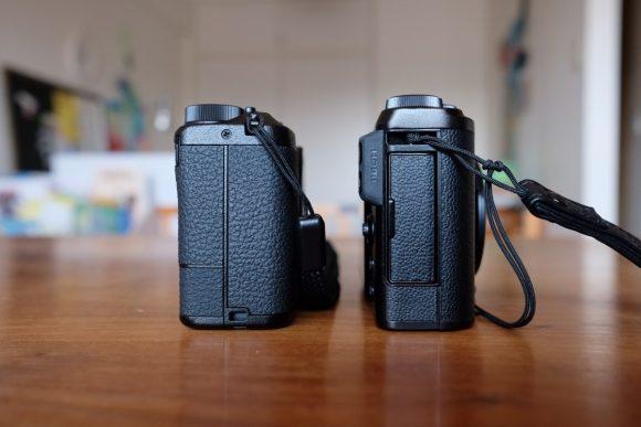 GR3とXF10の大きさ比較 右側